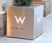 W Hotel Manhattan - Click for Blog Post